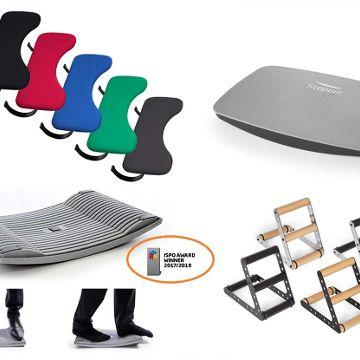 Bewegtes Arbeiten mit ergonomischen Zubehör